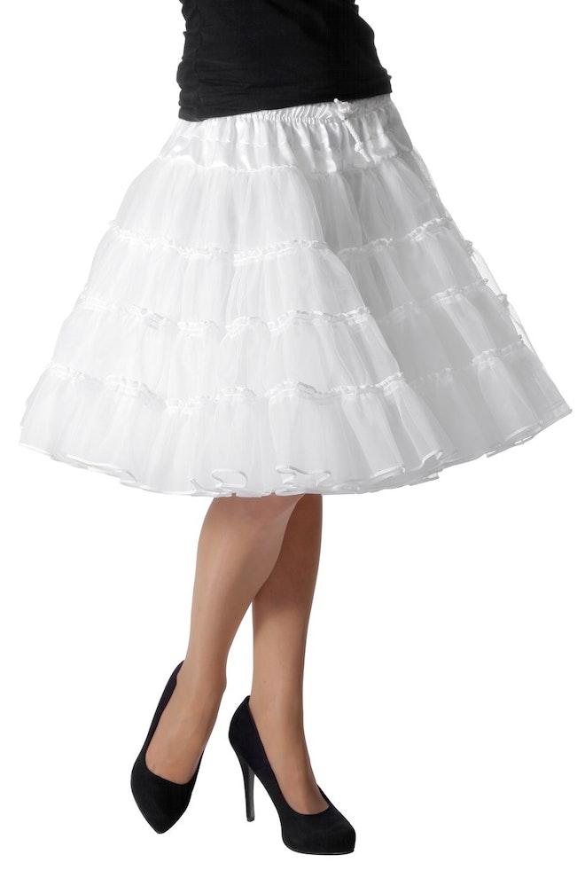 Petticoat luxe, wit