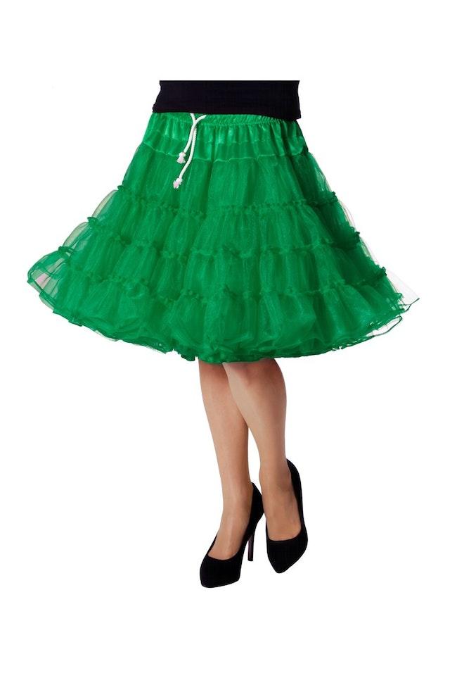 Petticoat luxe, groen 920 1380
