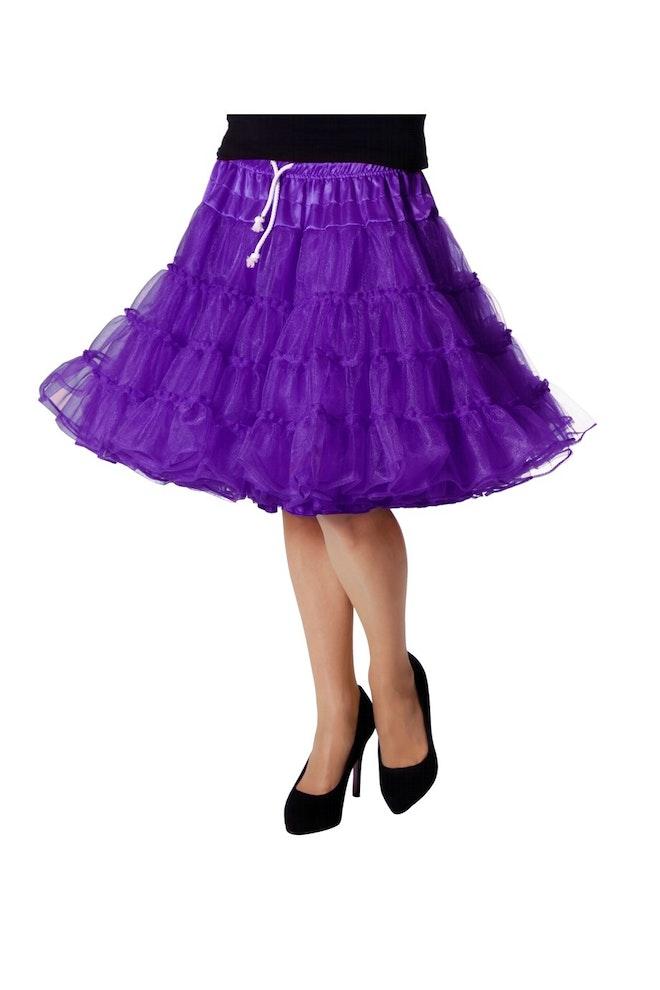 Petticoat luxe, paars 920 1380
