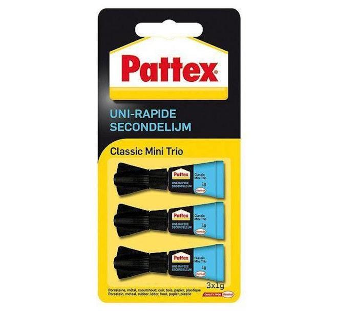 Pattex Secondelijm 1gr Classic 3 stuks