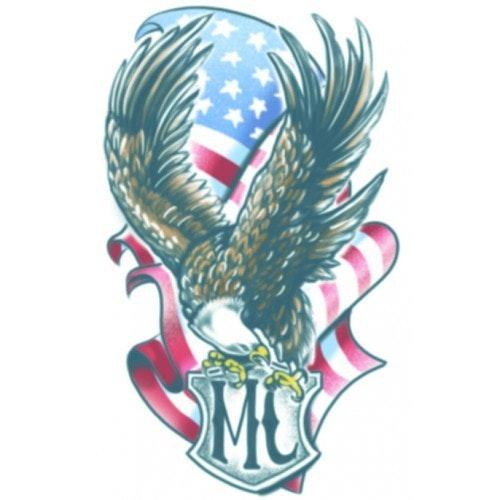 Tattoo biker MC eagle 500 500