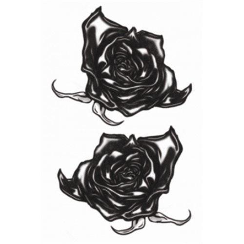 Tattoo Gothic black roses 500 500