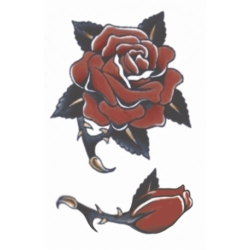 Tattoo vintage rose 1940 500 500