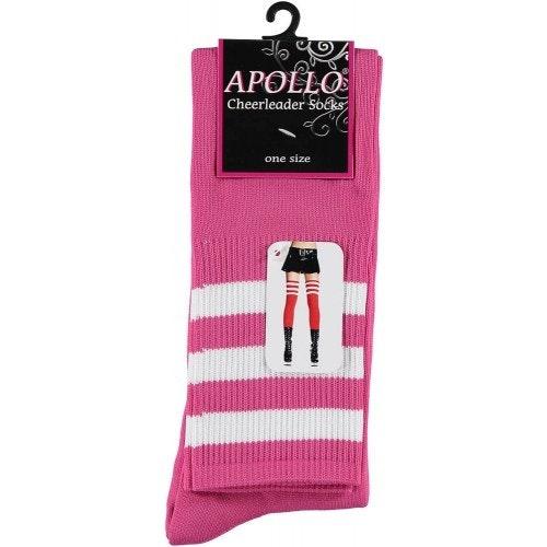 Cheerleader sokken roze wit 500 500