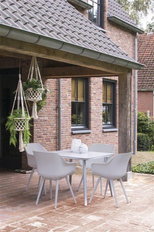 4 x Hartman Sophie Studio dining armstoel Misty