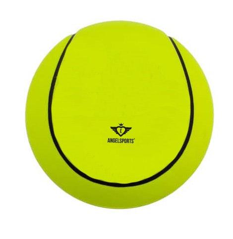 Soft foam tennisbal, kleur geel, â 12,5 cm