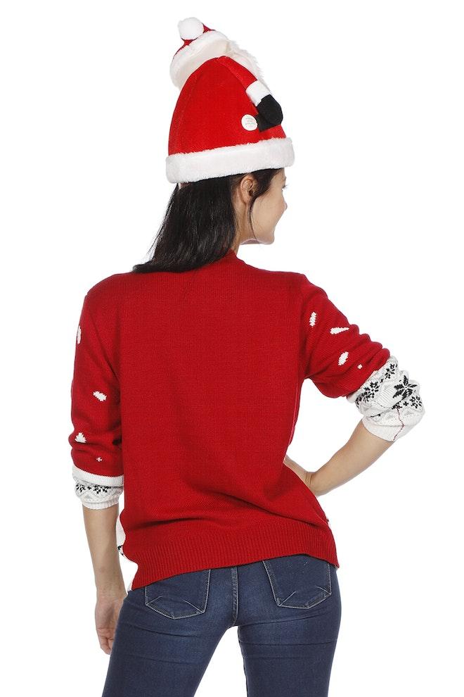 Kersttrui rood sneeuwman 800 1200