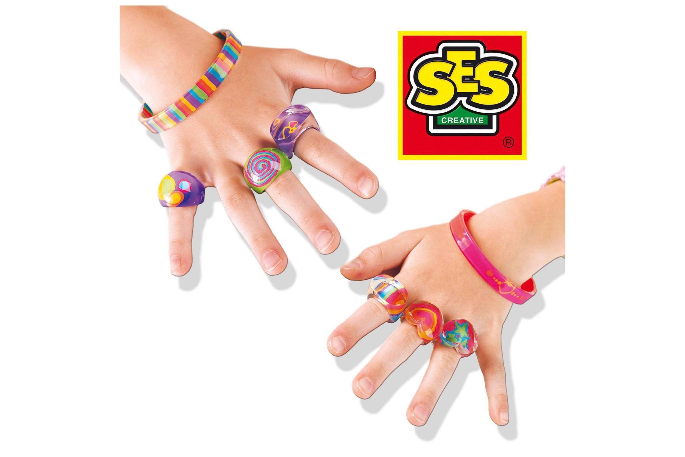 SES ringen & armbanden schilderen
