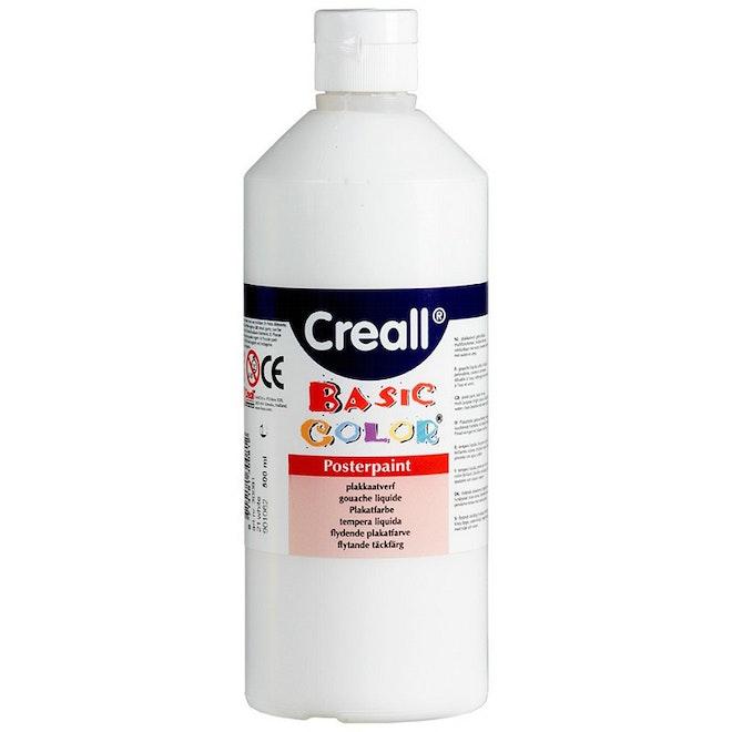 Creall plakkaatverf Basic Color 500ml - Wit
