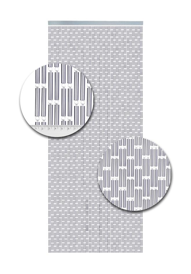 Hulzen 90x210 Zilver 1698 2428
