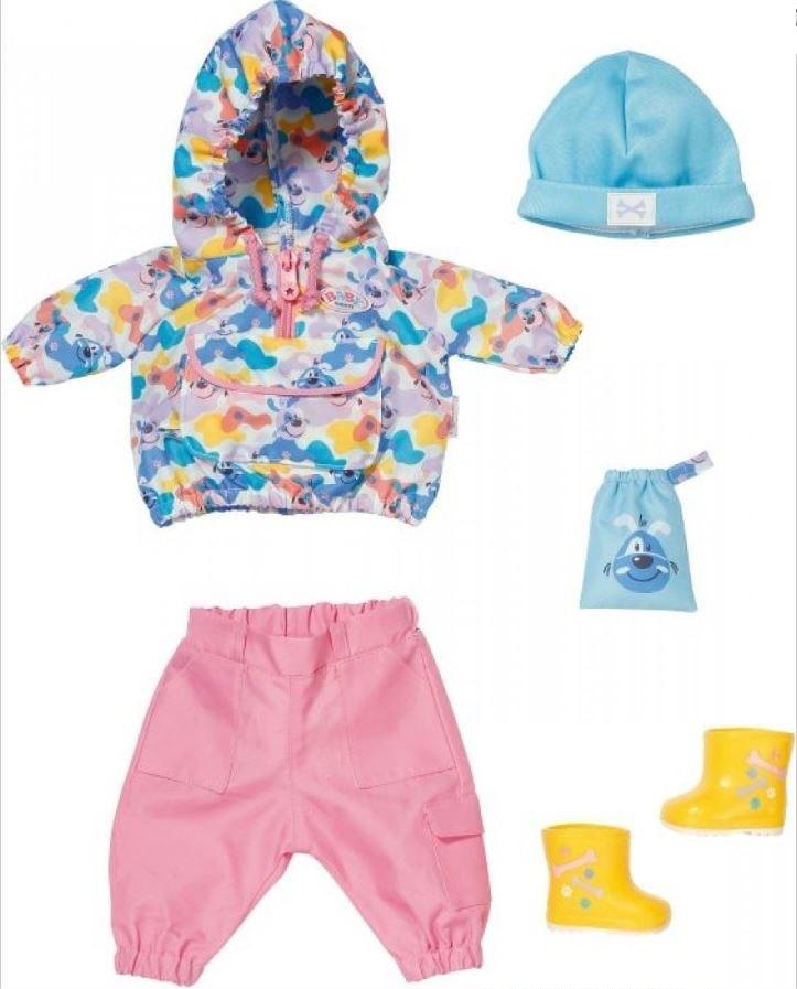 Baby Born Deluxe Gassi Geh Set poppenkleding