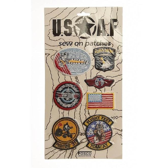 Kaart emblemen USAF stof 960 960