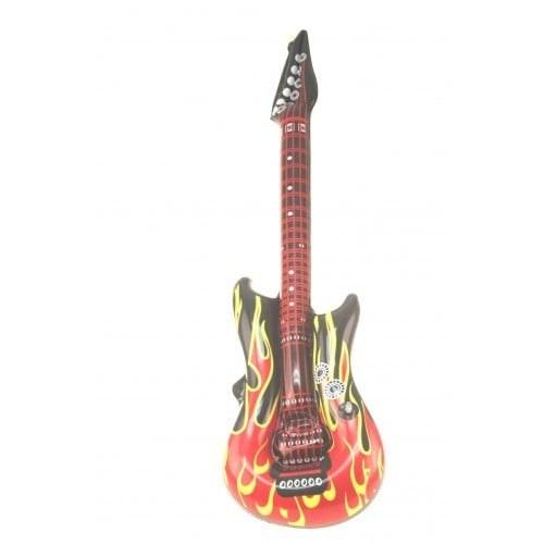 Oplaasbare gitaar flames