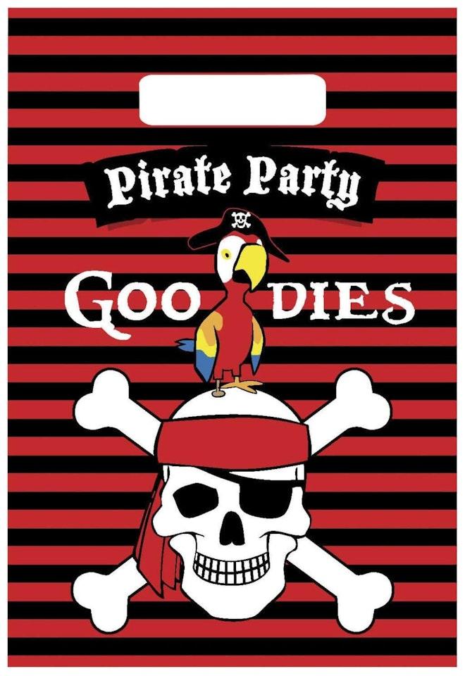 Partybags Piraten 6 stuks 1024 1490
