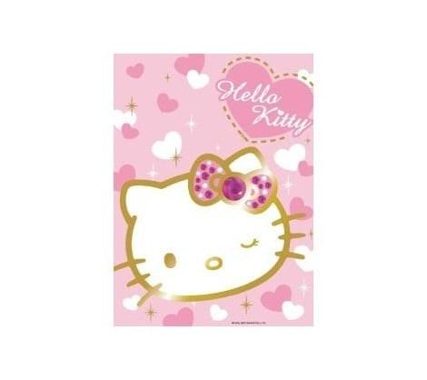 Ravensburger puzzel 500 stukjes Sprankelende Hello Kitty op=op 470 418