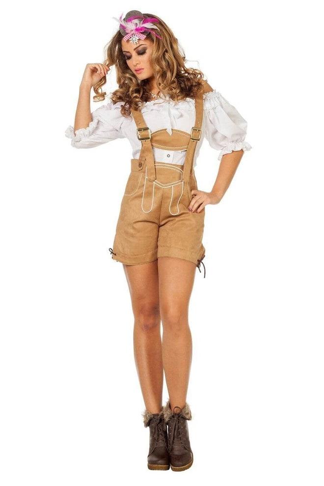 Dirndl blouse wit 920 1380