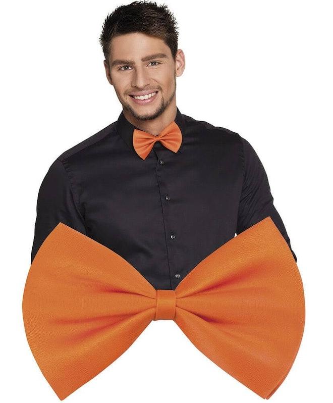 Vlinderstrik oranje 827 1000