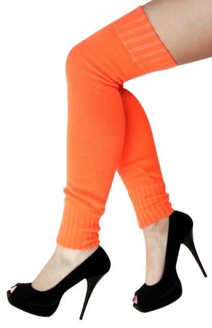 Knee over beenwarmer oranje 416 643