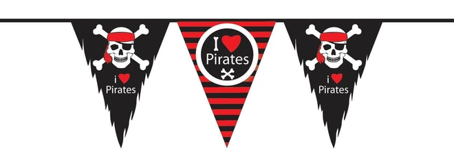 Vlaggenlijn PE Piraten 10 meter 1654 591