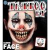 Face tattoo Clown - Product thumbnail