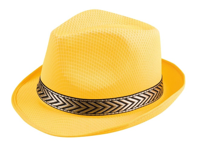 Hat funky yellow 1000 725