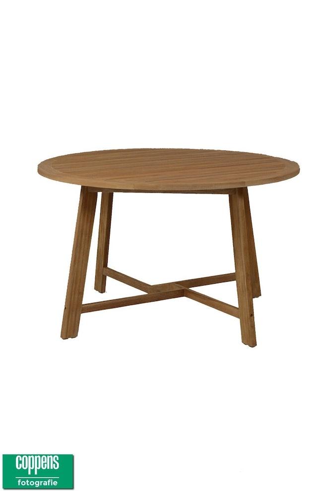 Teak tafel Alexander 130 cm rond 1024 1539