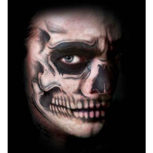 Face Tattoo Skull face 500 500