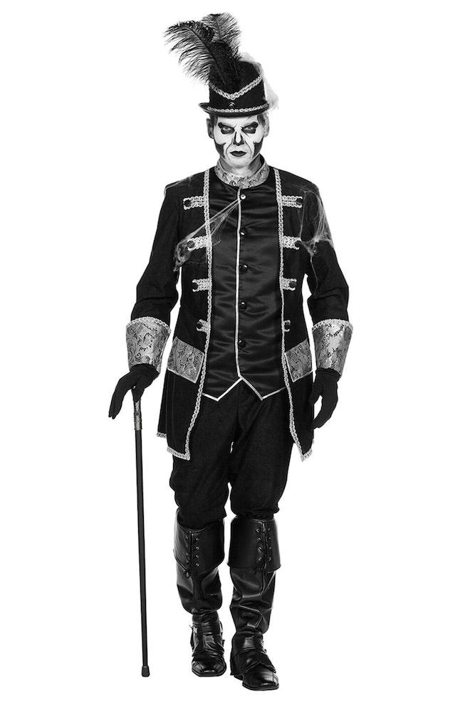 Piraat/Voodoo zwart/zilver 920 1380