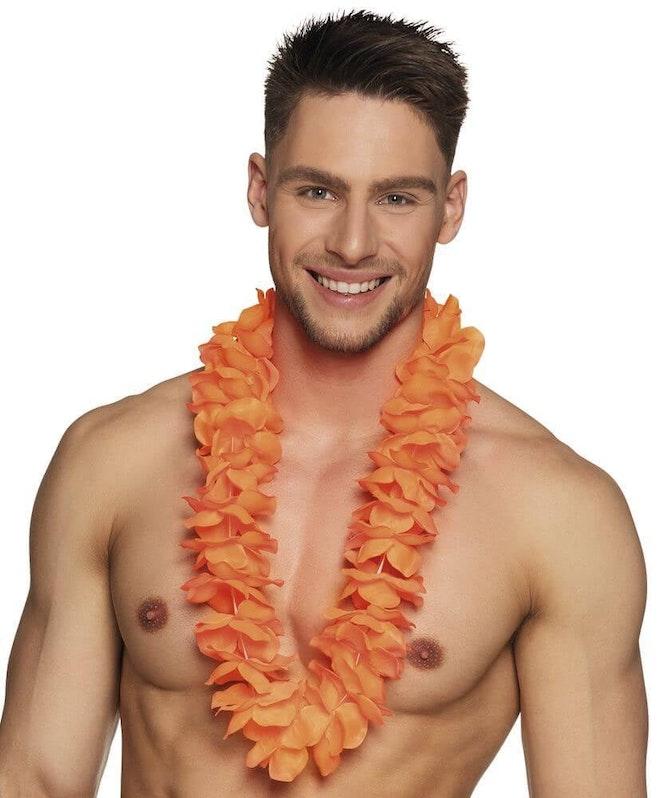 Hawaikrans ohana oranje 827 1000