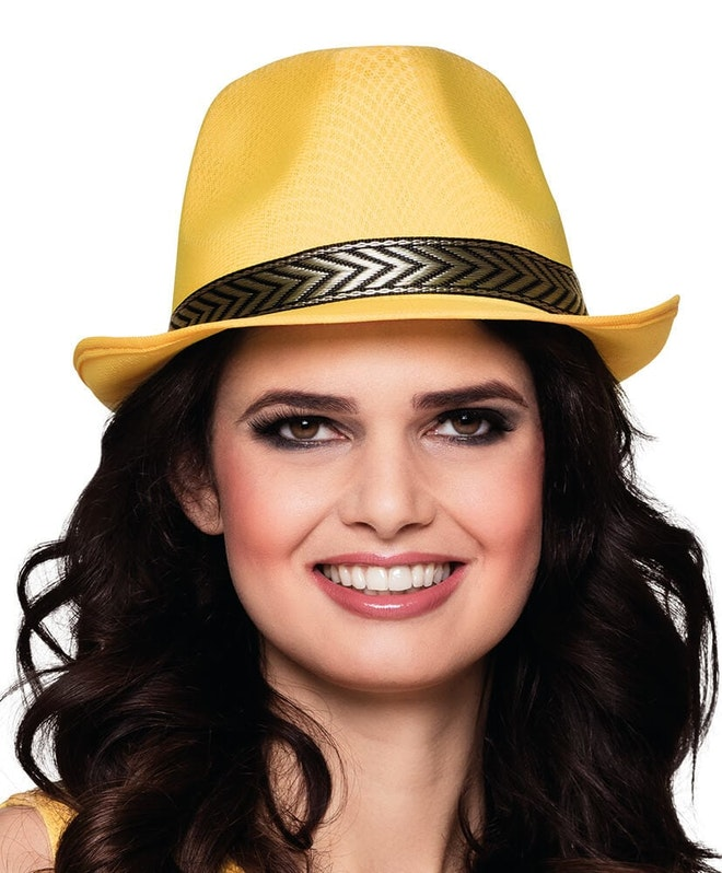 Hat funky yellow 827 1000