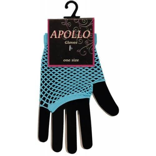 Visnet vingerloze handschoen turquoise 500 500