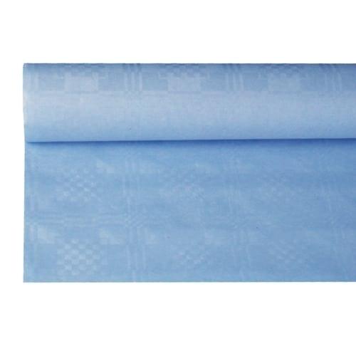 Tafelkleed damast lichtblauw 500 500