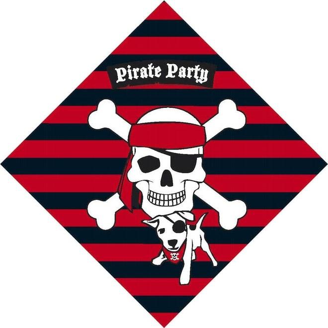 Servetten Piraten 20 stuks 1024 1024