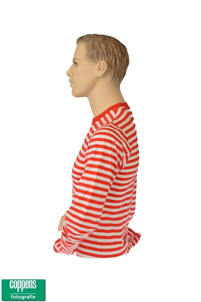 Dorus shirt rood wit 1023 1536