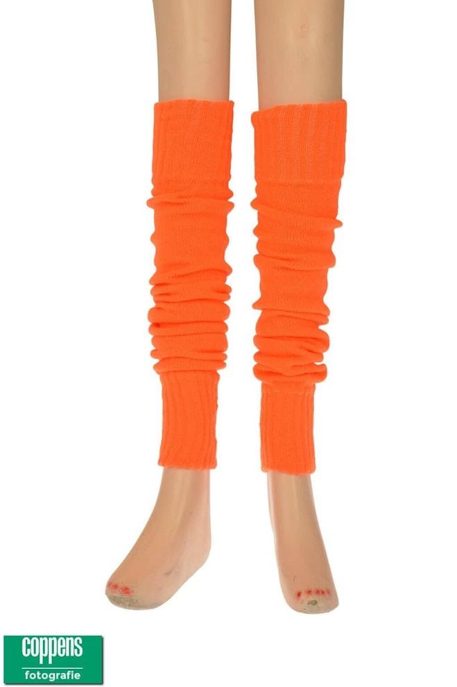 Knee over beenwarmer oranje 1022 1536