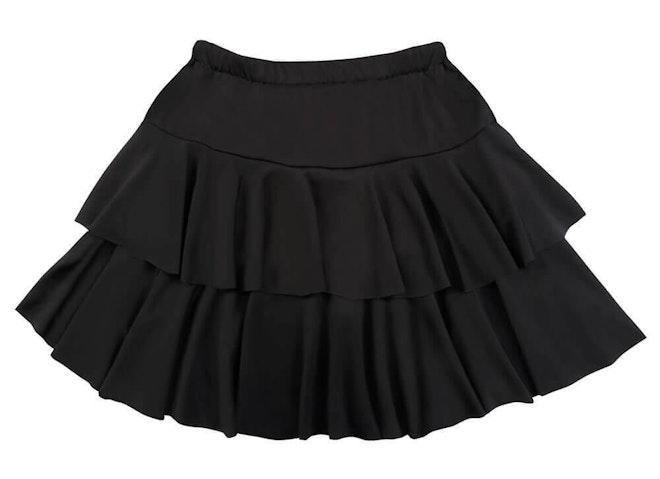 Minirok ruffles zwart 1000 725