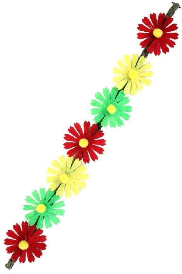 Hoofdbandje ibiza 7 bloemen 600 900