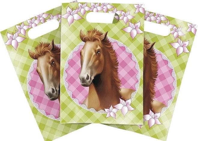 Partybags paarden 6 stuks 1187 845