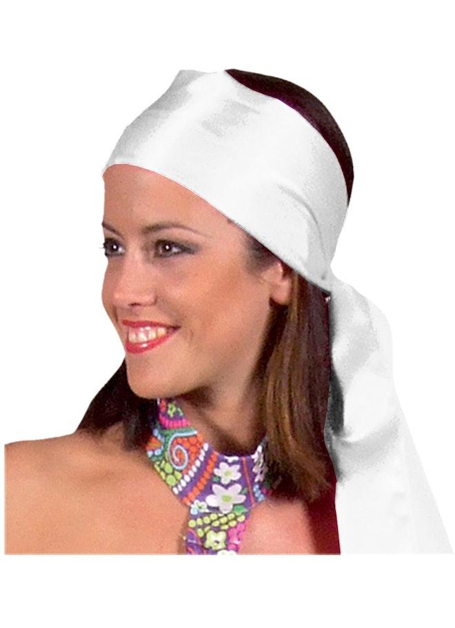 Sjaal / shawl satijn zilver 1160 1600
