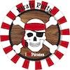 Borden Piraten 8 stuks - Product thumbnail
