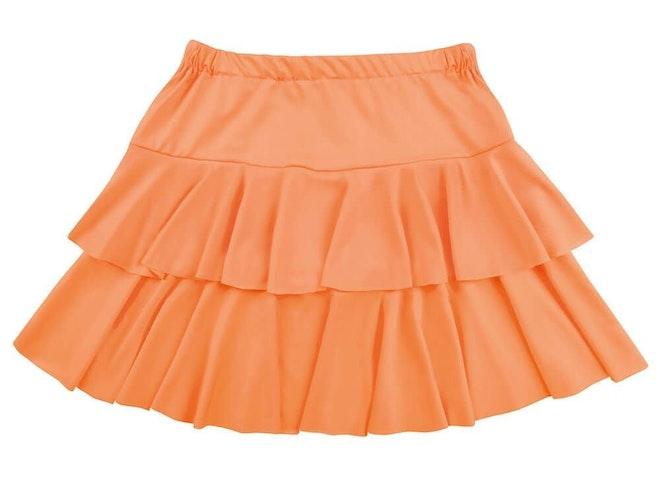 Minirok ruffles oranje 1000 725