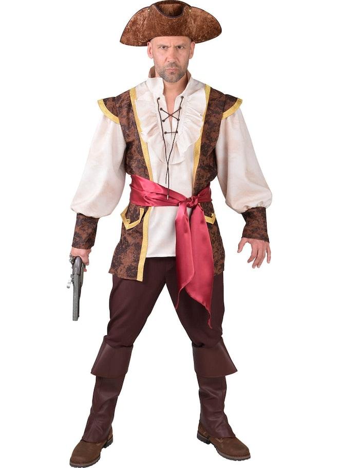 Piraat bruin-bordeaux 1160 1600
