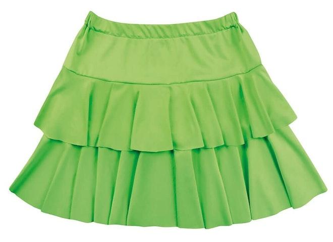 Minirok ruffles groen 1000 725