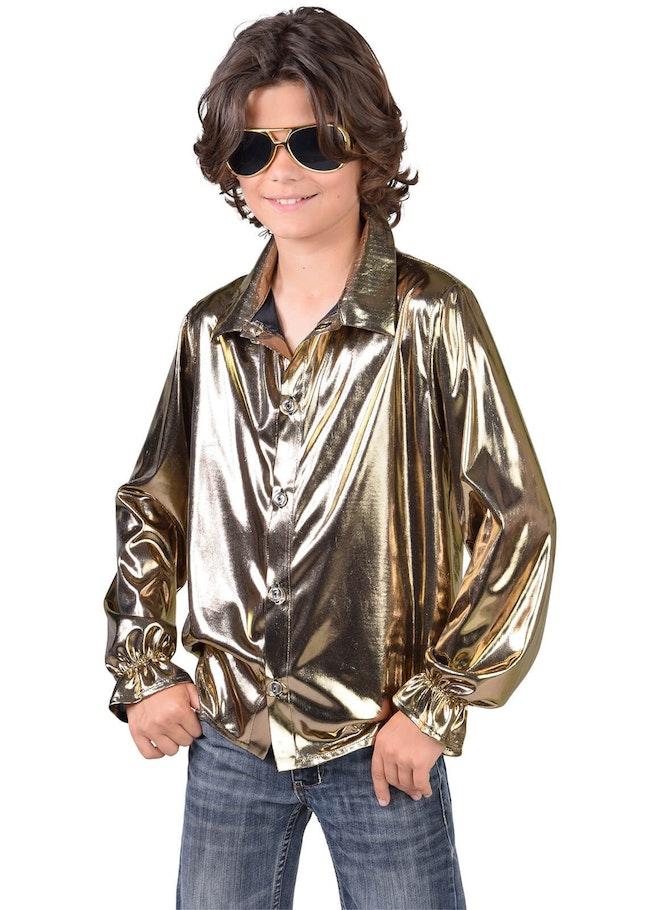 Blouse folie goud 1160 1600
