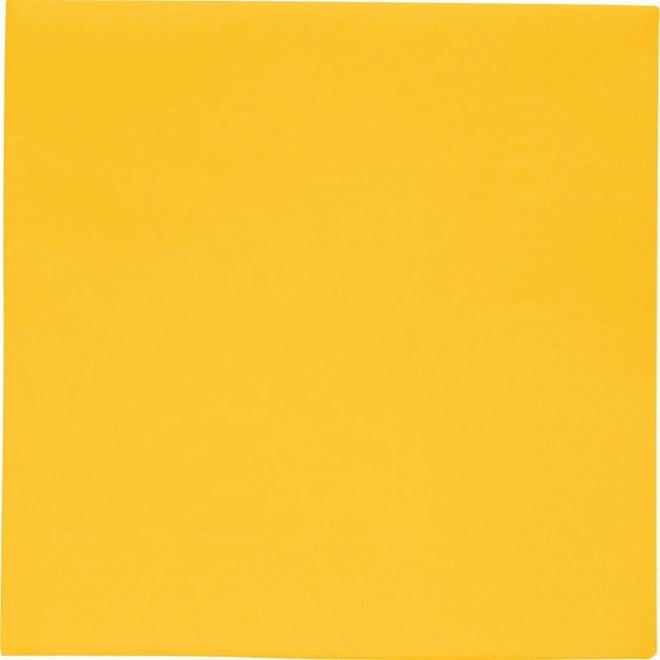 Servetten geel 33x33cm 1024 1024