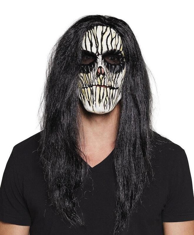 Latex masker met haar 827 1000