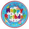 Papieren bord 23cm Happy Birthday - Product thumbnail