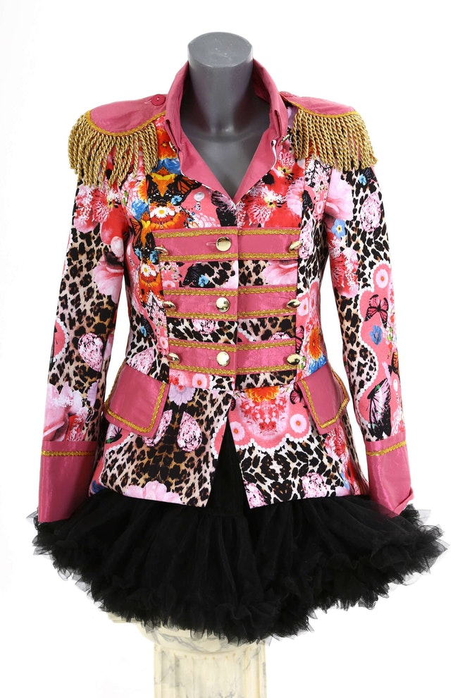 Damesjas roze panter kort 1667 2500