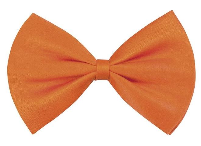 Vlinderstrik oranje 1000 725