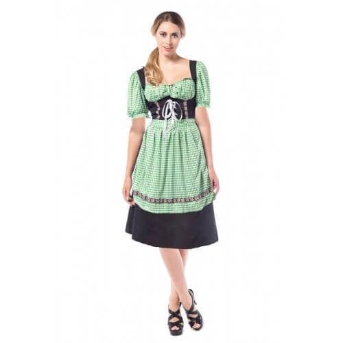 Dirndl Hannah Black/green 500 500